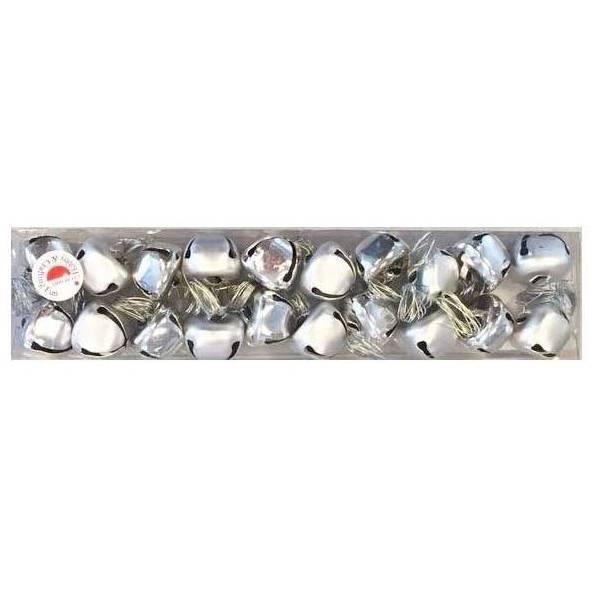 HOBBY PRAPORCI (Zvonca metalna)  srebrni 2cm 20/1
