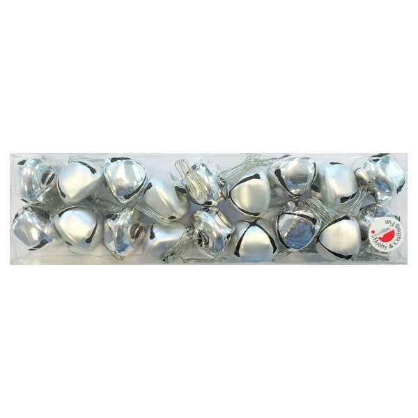 Zvončići set srebrni 2,5 cm
