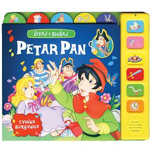 Zvučna slikovnica čitaj i slušaj Petar Pan