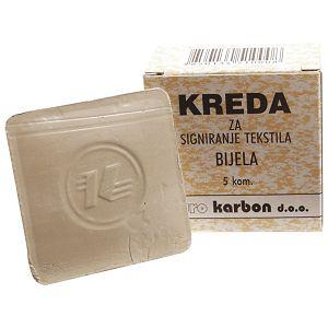 Kreda krojačka pk5 Karbon bijela