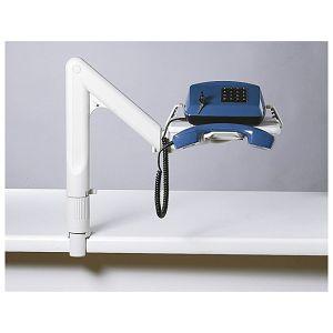Stalak za 1telefon s teleskopskom rukom Exacompta 86540 sivi