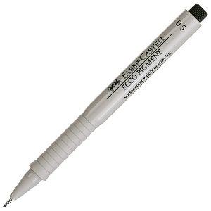 Flomaster za tehničko crtanje 0,5mm Ecco Pigment Faber Castell 166599 crni