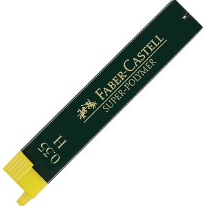 Mine 0,3mm H super polymer 1tuba Faber Castell 9063