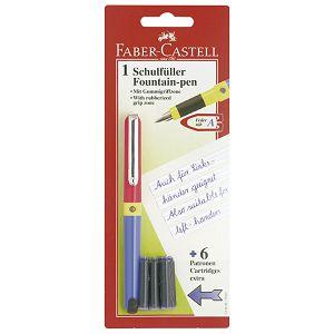 Nalivpero školsko+6patrona Faber Castell 149898 blister!!
