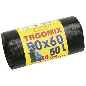 Vreća za smeće  40L 50x60cm HD pk50 Trgomix