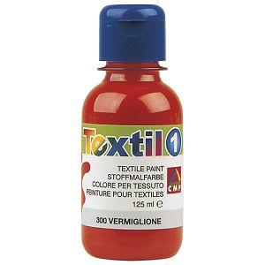 Boja tempera za tekstil 125ml CMP.410TX125300 crvena