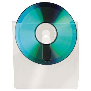 Etui za 1 CD pp samoljepljiv s prstohvatom pk10 3L.10236 blister