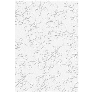 Papir ukrasni s uzorkom A4 220g pk20 Primavera Firenze Heyda 20-47726 35 bijeli