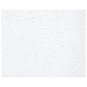 Papir ukrasni s uzorkom A4 220g pk20 Primavera Milano Heyda 20-47726 25 bijeli