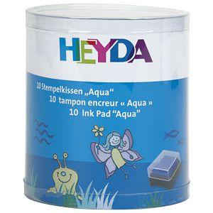 Jastučić za pečat 10boja Aqua Heyda 20-48884 72
