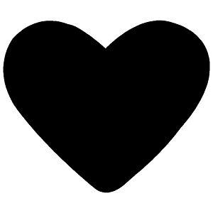 Bušač 1 rupa mala-srce Heyda 20-36874 21 blister