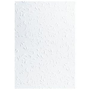 Papir ukrasni s uzorkom A4 220g pk20 Roma Heyda 20-47726 15 bijeli
