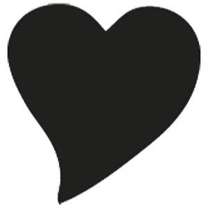 Bušač 1 rupa mala-srce Heyda 20-36874 54 blister