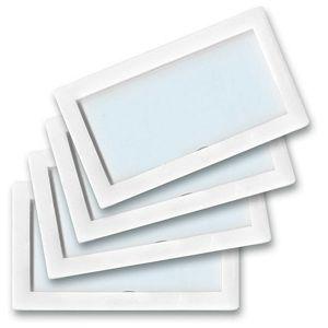 Etui magnetni  8x4,5cm pk4 Tarifold 194802 bijeli blister