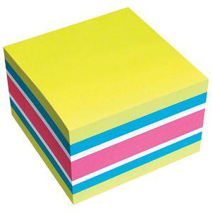 Blok samoljepljiv kocka 75x75mm 450L Brilliant Global Notes 5654-51 sortirano