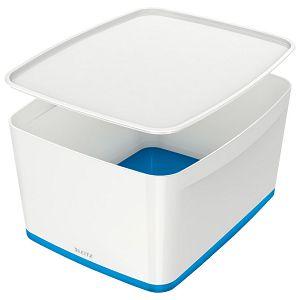 Kutija 318x385x198mm sa poklopcem pvc MyBox Leitz 521610-36 plavo/bijela!!
