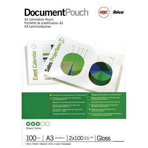 Folija za plastificiranje 100my A3 sjajna pk100 GBC 3740307