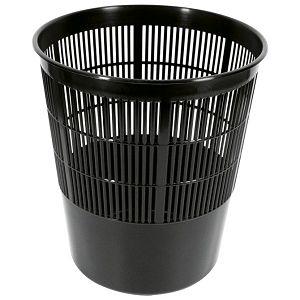 Koš za smeće pp 17L rešetkasti Moplen Giudicarie crni