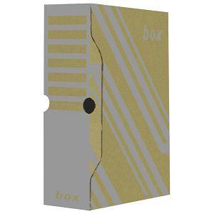 Kutija arhivska 29,7x33,9x 8cm Fornax smeđa