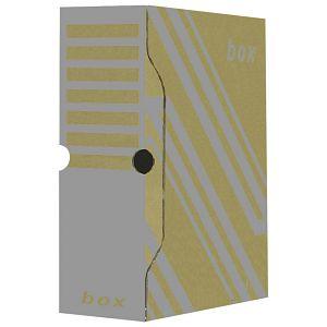 Kutija arhivska 29,7x33,9x10cm Fornax smeđa
