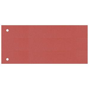 Pregrada kartonska 23,5x10,5cm pk100 Fornax crvena