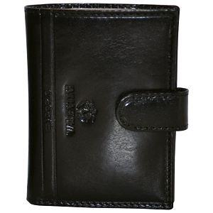 Etui za kartice/vizitke s gumbom koža Emporio Valentini 563LB01 crni