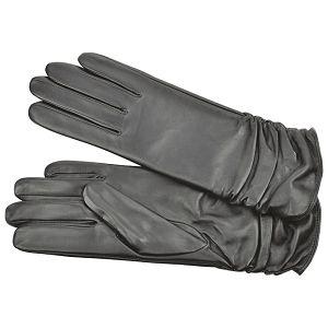 Rukavice kožne ženske Galko 71-0050-R01 crne XL
