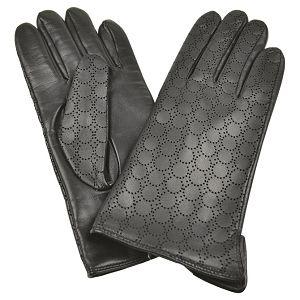 Rukavice kožne ženske Galko 71-0073-R01 crne M!!