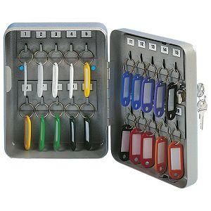Ormarić za ključeve-za  20 kom Donau 5241001PL-99 sivi