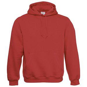 Majica dugi rukavi B&C Hooded 280g crvena 2XL!!