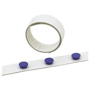 Traka ljepljiva magnetna 35mm/5m Durable 4715-02 bijela