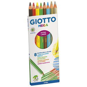 Boje drvene   8boja Giotto Mega Fila 225400 blister
