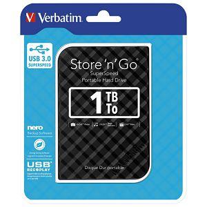 "Hard disk 2.5""     1Tb USB 3.0 Verbatim 53194 crni"