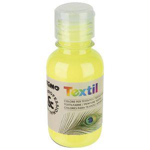 Boja tempera za tekstil 125ml CMP.410TXF125210 fluorescentno žuta