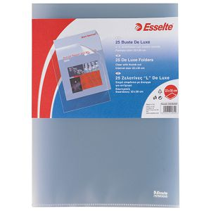 "Fascikl ""L""  90my pp A4 mat Copy Safe pk25 Esselte 39258300"