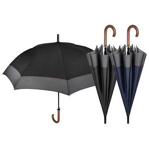 Kišobran automatik s drvenom ručkom Golf Time Perletti 26005 sortirano!!