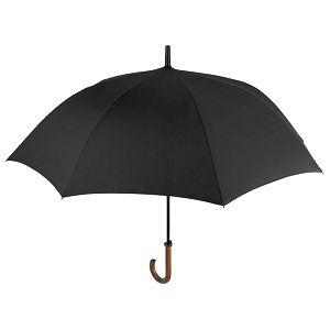 Kišobran automatik s drvenom ručkom Golf Time Perletti 26015 crni
