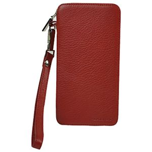 Etui za mobitel i kartice koža Galko 39-0508-1034 crveni