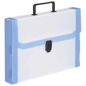 Torba-kofer pp-tvrdi  380x270x50mm sa fluo rubom Balmar (Dispaco) VID5 proz bijela/crna ručka!!