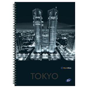 Blok kolegij A4 karo  70L Cities By Night Elisa