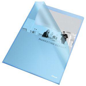 "Fascikl ""L"" 120my pp A4 mat Copy Safe pk100 Esselte 54837 plavi"
