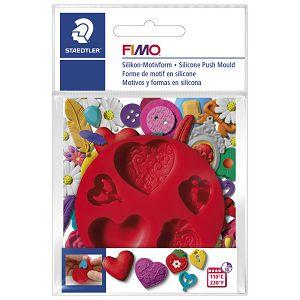 Kalup za modeliranje Srca Fimo Staedtler 8725 23 blister!!