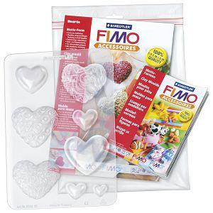 Kalup za modeliranje veliki Srca Fimo Staedtler 874226 blister