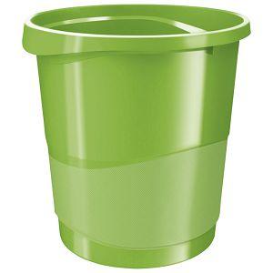 Koš za smeće pp 14L Vivida Esselte 623950 zeleni!!