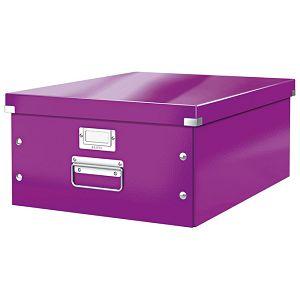 Kutija arhivska A3+ Large Click&Store Leitz 60450062 ljubičasta