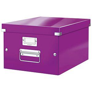 Kutija arhivska A4+ Medium Click&Store Leitz 60440062 ljubičasta