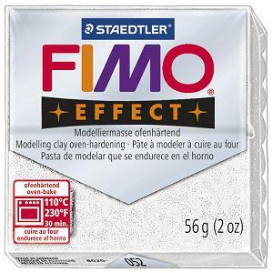 Masa za modeliranje   57g Fimo Effect Staedtler 8020-052 glitter bijela