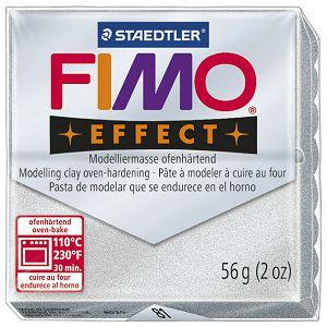 Masa za modeliranje   57g Fimo Effect Staedtler 8020-81 metalik srebrna