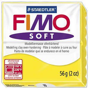 Masa za modeliranje   57g Fimo Soft Staedtler 8020-10 limun žuta