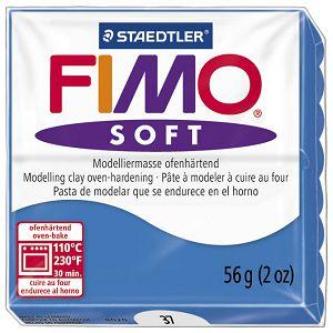 Masa za modeliranje   57g Fimo Soft Staedtler 8020-37 pacific plava